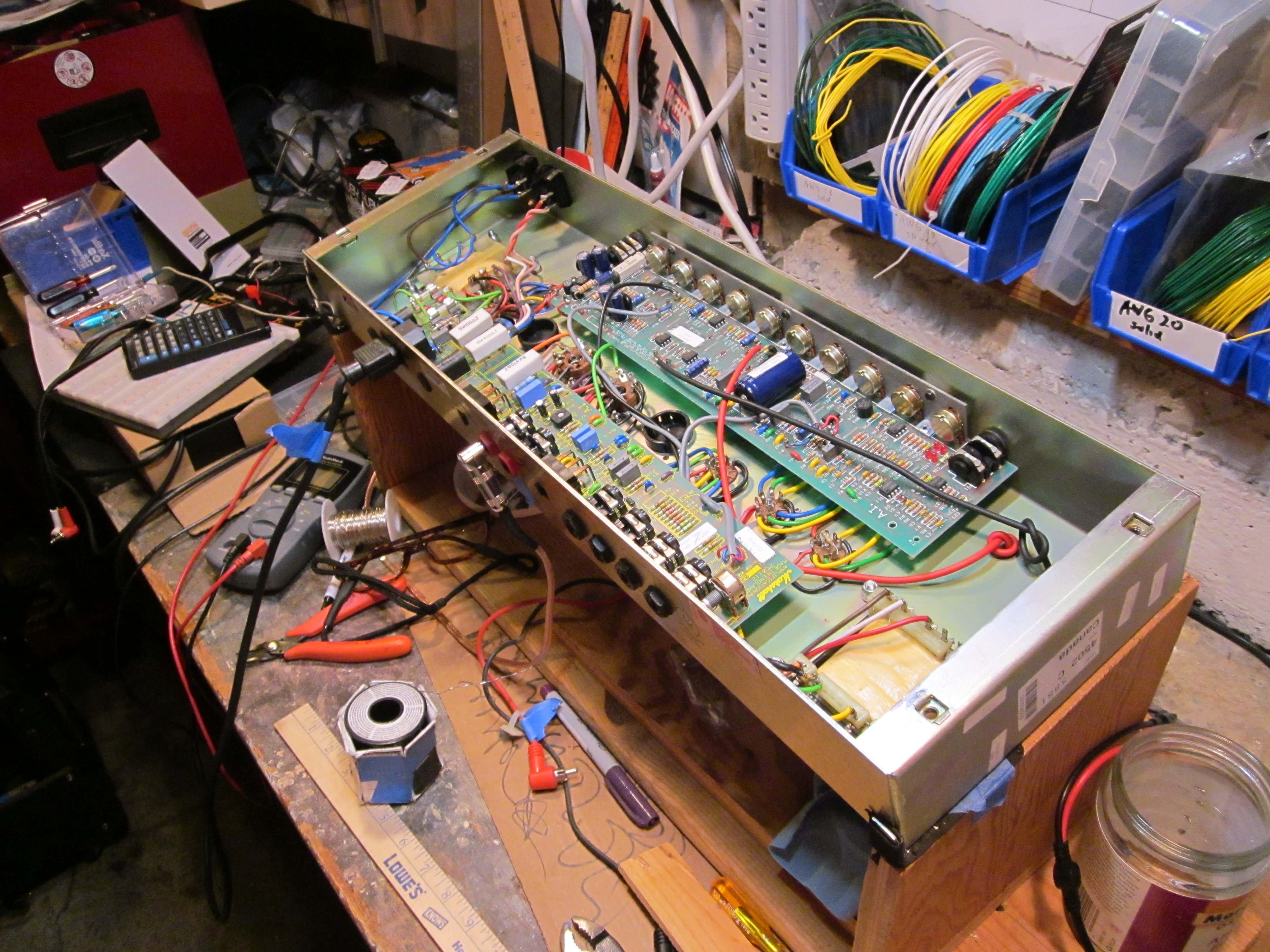 I Just Worked On A Sunnyside Amps Gibson Guitar Board Updating The Electronics With Pcb Do Clip Img 5220 5219