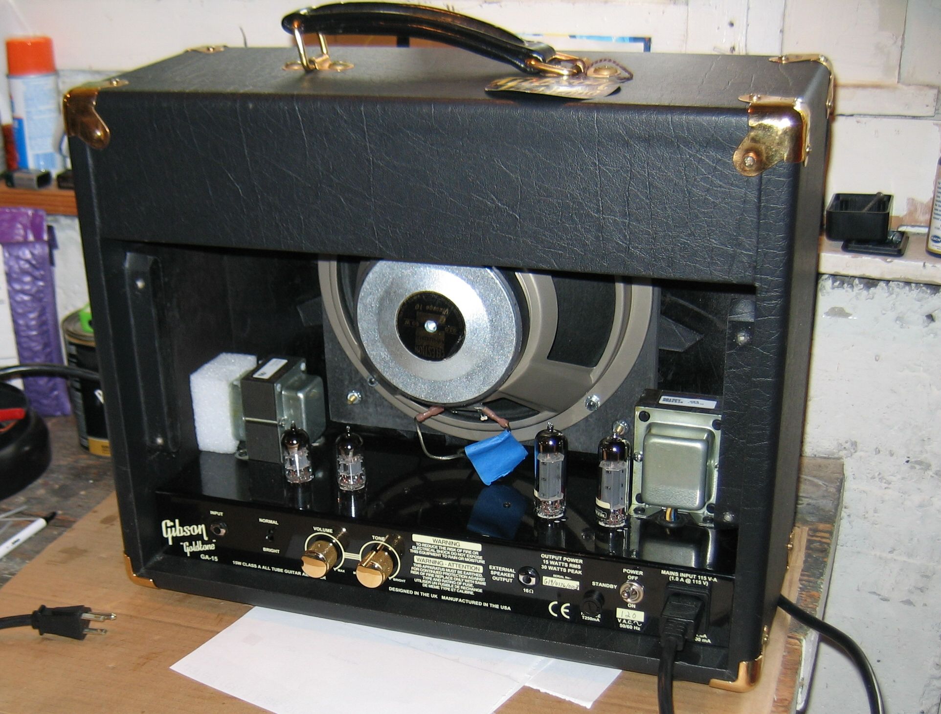 I Just Worked On A Sunnyside Amps Gibson Guitar Board Updating The Electronics With Pcb Do Clip Img 2501 2500